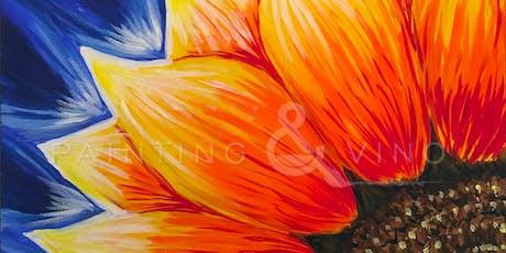 """Autumn Sunflower"" Painting & Vino Event tickets"
