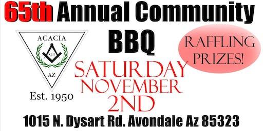 65th Annual Community BBQ fundraiser