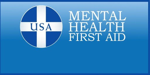Adult Mental Health First Aid For the Professional and Paraprofessional