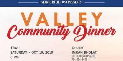 Valley Community Meeting