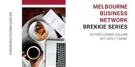Melbourne Business Network   Brekkie Series tickets