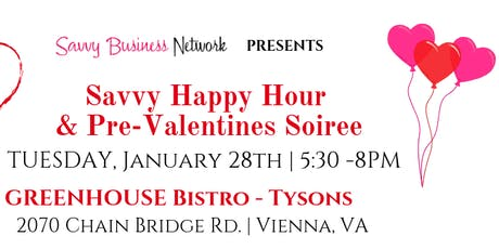 Happy Hour & Pre-Valentines Soiree - Tysons tickets