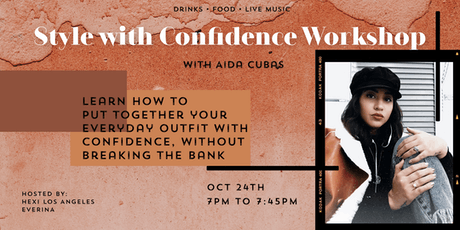 Style with Confidence Workshop + Pop Up Shopping! tickets