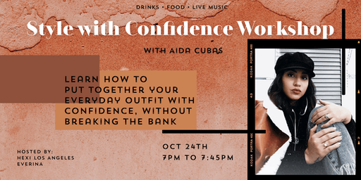 Style with Confidence Workshop + Pop Up Shopping!