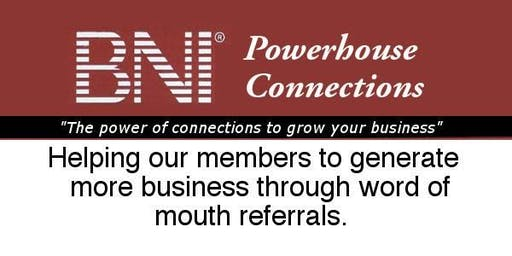BNI Powerhouse Connections Networking Breakfast