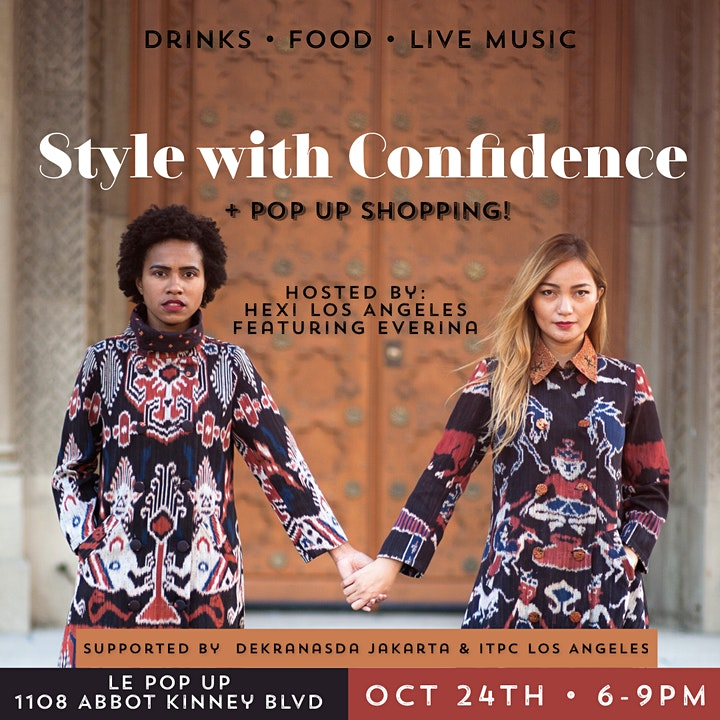 Style with Confidence Workshop + Pop Up Shopping! image