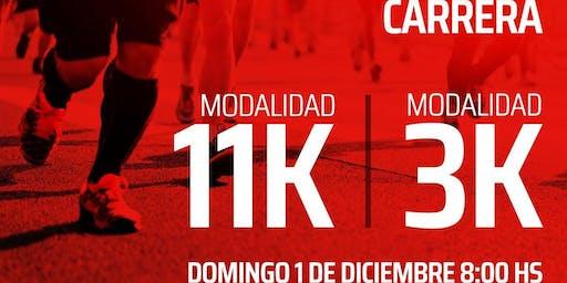 Carrera 2019 11K/3K - Estudiantes de La Plata - UNO para todos