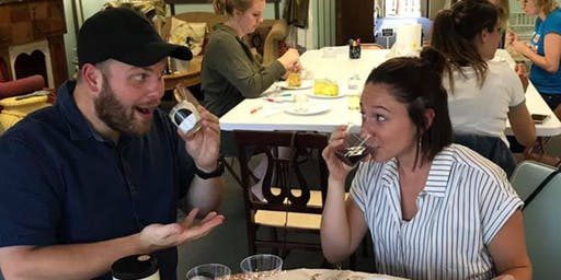 Sip and Sniff with Home Again Candles hosted my Ironhand Wine Bar