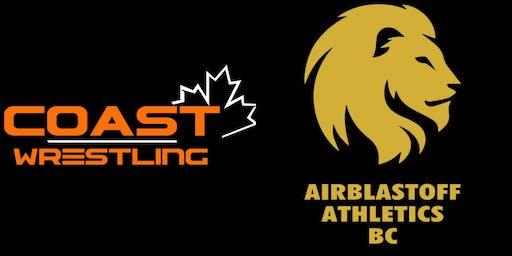 AirBlastoff Athletics & Coast Wrestling High Performance Mindset 2019