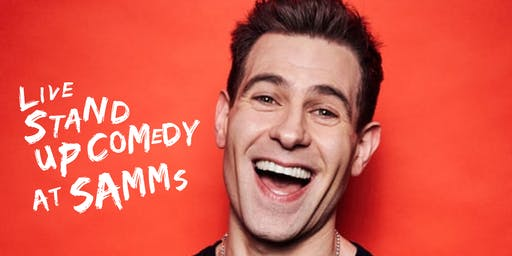 Live Stand up Comedy with Headliner Simon Brodkin