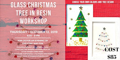 Glass Christmas Tree in Resin Workshop tickets