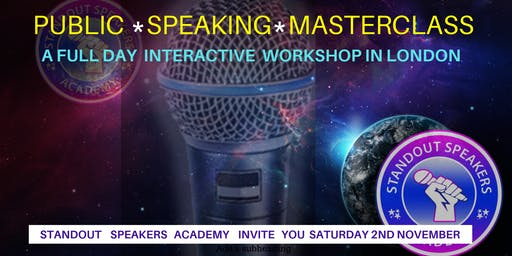 Public Speaking Masterclass -  StandOut Speakers Academy