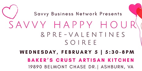 Happy Happy Hour and Pre-Valentines Soiree - Loudoun tickets