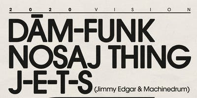 Dâm-Funk with Nosaj Thing and J-E-T-S