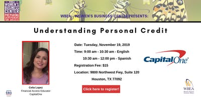 Understanding Personal Credit