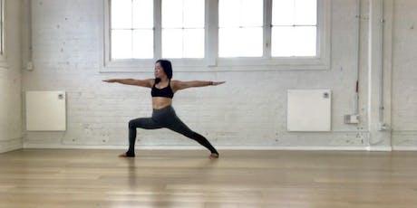Vinyasa Yoga Level 1 with Ewa Bigio tickets