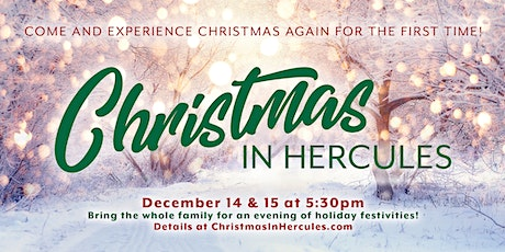 Christmas In Hercules 2019 tickets
