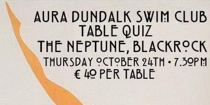 Dundalk Swimming Club Table Quiz