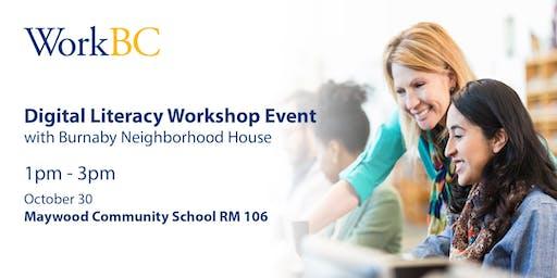Digital Literacy Workshop Event