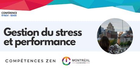 Gestion du stress et performance billets