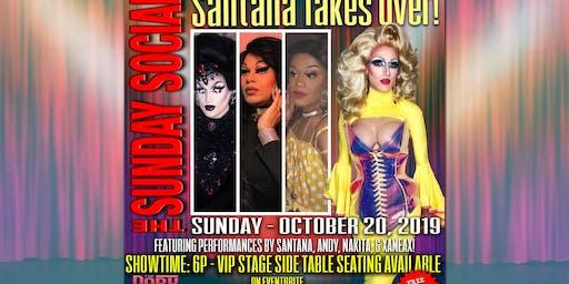 October 20 Sunday Social Santana Takeover