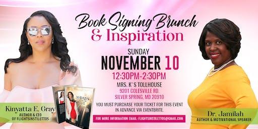 Inspirational Book Signing Brunch  w/Kinyatta E. Gray Featuring Dr. Jamilah