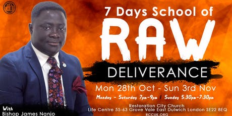 School of Raw Deliverance tickets