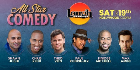 Theo Von, Chris Redd, and more - Special Event: All-Star Comedy tickets