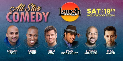 Theo Von, Chris Redd, and more - Special Event: All-Star Comedy