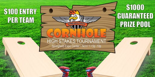 High Stakes Wingapalooza Cornhole Tournament