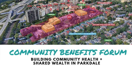 Parkdale Community Benefits Forum tickets