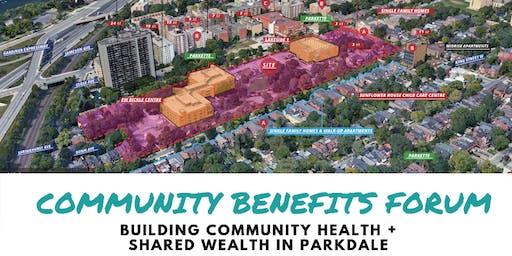 Parkdale Community Benefits Forum