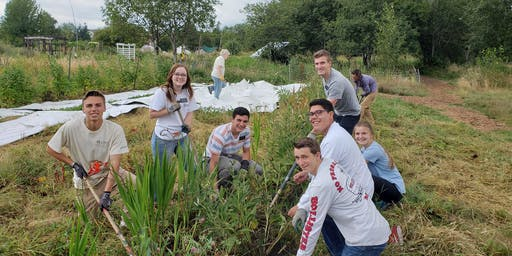 21 Acres Volunteer Plant-a-thon