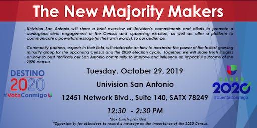 ¡CUENTA CONMIGO! Census & Hispanic Voter Presentation - Univision San Antonio