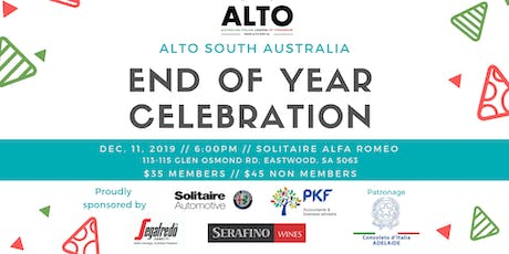 ALTO SOUTH AUSTRALIA: End of Year Celebration tickets