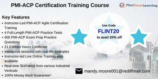 PMI-ACP Bootcamp Training in Concord, NH