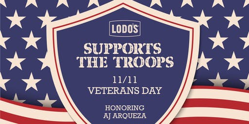 Support the Troops: A Benefit for AJ Arqueza