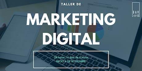 Taller de Marketing Digital boletos