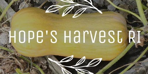 Butternut Squash Trip with Hope's Harvest - Sat., 10/19 12-2pm