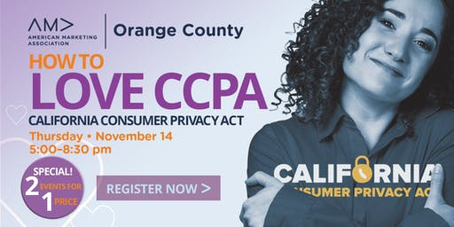 How to Love CCPA - another 2for1 event