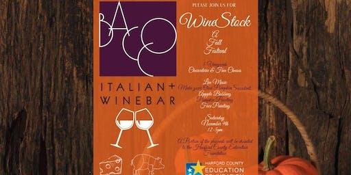 WIneStock : A Fall Festival @ Bacco Italian + Wine Bar