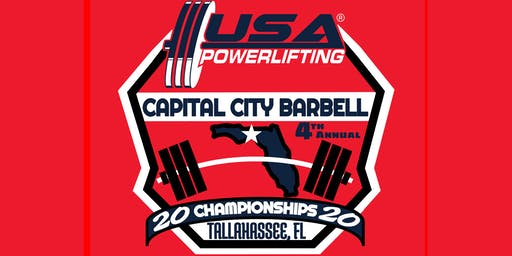 4th Annual USA Powerlifting Capital City Barbell Championships (FL-2020-02)