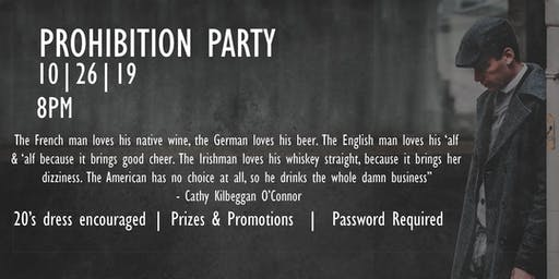 WE WANT BEER | Prohibition Party