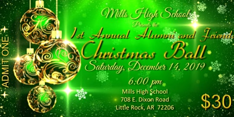 Mills High 1st Annual Alumni and Friends Christmas Ball
