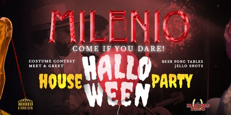 MILENIO Halloween House Party tickets