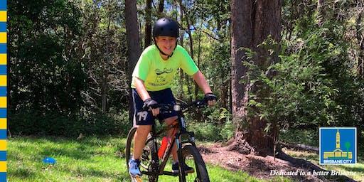 Get good at riding a mountain bike (junior)