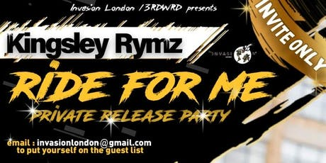 "Private Release Party ""Ride For Me"" tickets"