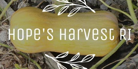 Butternut Squash Trip with Hope's Harvest - Wed., 10/23 10-1pm tickets