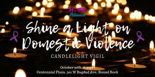 Shine a Light on Domestic Violence: Candlelight Vigil