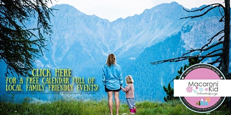 Find Your Family Fun in Colorado Springs! FREE Calendar tickets